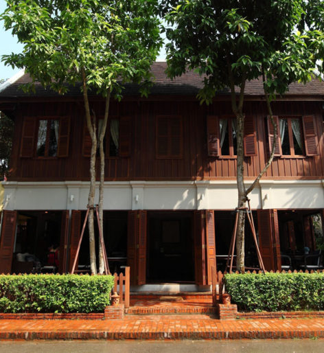outside of the burasari heritage hotel luang prabang